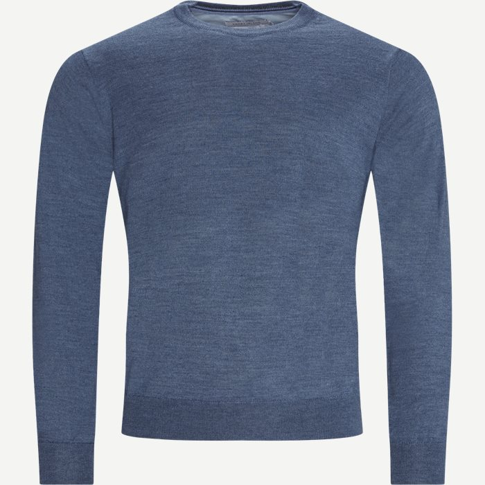 Lipan Striktrøje - Strik - Regular - Denim
